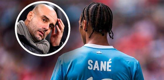 Leroy Sane könnte Manchester City im Winter verlassen.
