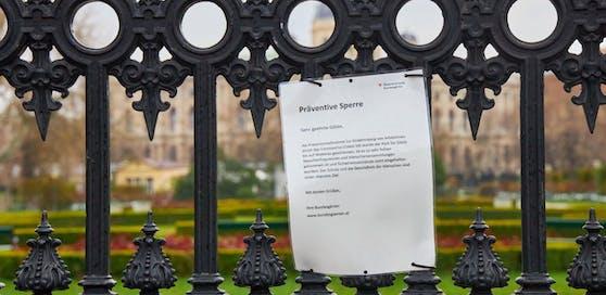 Ab 14. April werden die Bundesgärten in Wien nun doch geöffnet.