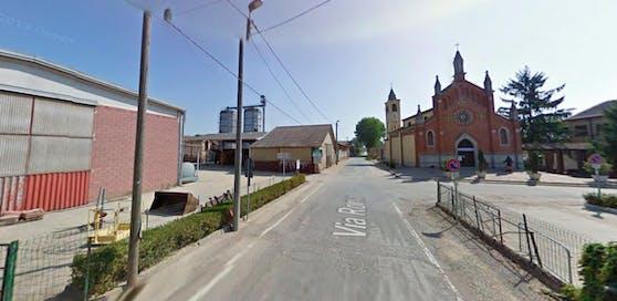 In Maccastorna (Italien) passierte der schreckliche Unfall.