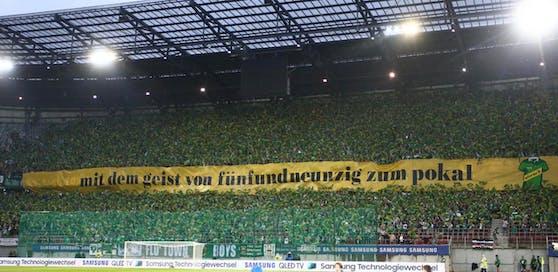 Rapid-Fans in Klagenfurt 2017