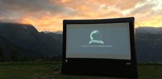 Silent Cinema am Berg
