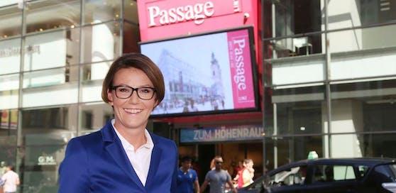 """""""Es sind herausfordernde Zeiten für uns"""", sagt Passage-Chefin Monika Sandberger im Gespräch mit """"Heute""""."""