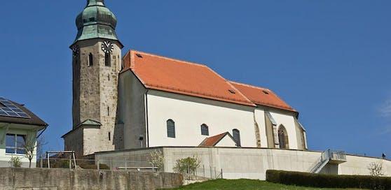 Kath. Pfarrkirche, Wallfahrtskirche hl. Ottilie in Kollmitzberg, einer Katastralgemeinde von Ardagger.