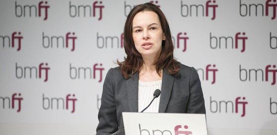 Familien- und Jugendministerin Sophie Karmasin