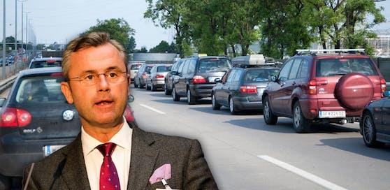 Die Forderung von Verkehrsminister Norbert Hofer (FPÖ) nach Tempo 140 stößt bei den Österreichern auf offene Ohren.