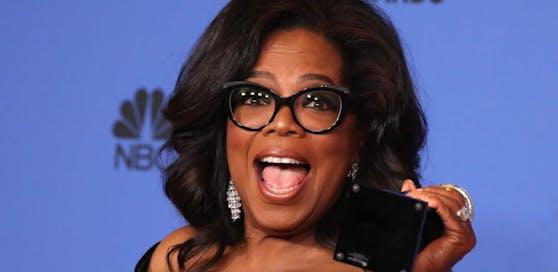 Oprah Winfrey, eine der teuersten TV-Talkerinnen weltweit.