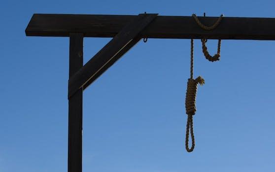 Der Verurteilte wurde öffentlich gehängt (Symbolbild)