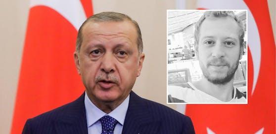 """""""Zirngast ist nichts anderes als eine Geisel des Despoten Erdogan"""", so ÖJC-Chef Fred Turnheim."""