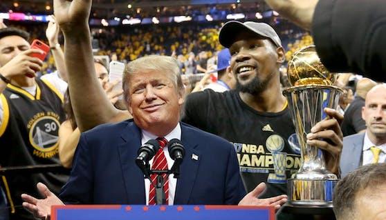 Kevin Durant und Co. wollen nicht zu Donald Trump ins Weiße Haus