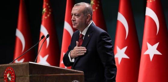 Präsident Erdogan lies über seinen Sprecher die Maßnahmen der österreichischen Regierung scharf kritisieren.