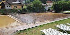Erste Schadensmeldungen nach dem Hochwasser in NÖ