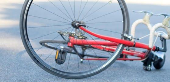 Der 58-Jährige war auf einem Rennrad unterwegs.