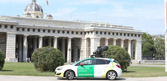 Google Street View Car Wien