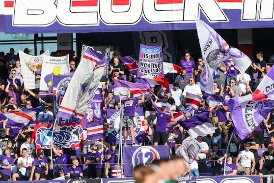 Die Austria-Fans kehrten ins Austria-Stadion zurück.