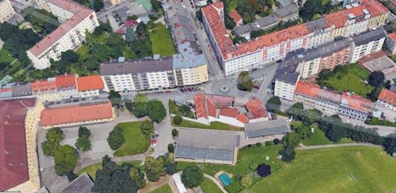 Die Wohnung des Pensionisten befindet sich in der Grazer Schörgelgasse.