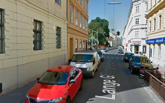 Blick in die Lange Gasse im 8. Wiener Gemeindebezirk