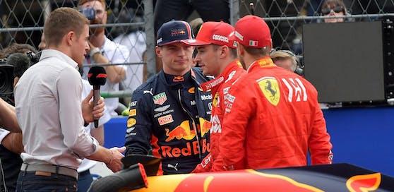 Dicke Luft im Fahrerlager. Verstappen verlor die Pole, die Ferraris erbten Startreihe eins.