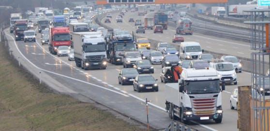 Das Reisewochenende verursacht Staus in ganz Österreich.