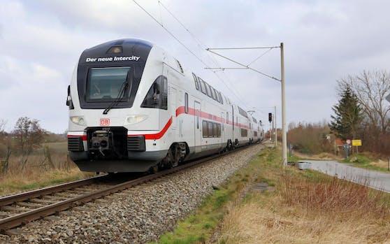 Ein neuer Intercity Doppeldecker-Zug der Deutschen Bahn. Dieser verkehrt ab März 2020 auf der Strecke Rostock-Berlin.