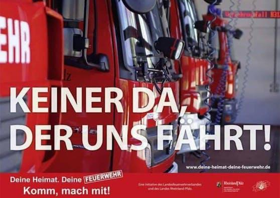 Die Feuerwehr Queis sucht via Facebook nach Verstärkung