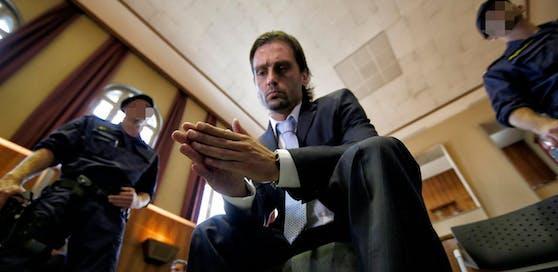 Sanel Kuljic bei seiner Verhandlung nach dem Wettskandal 2013.