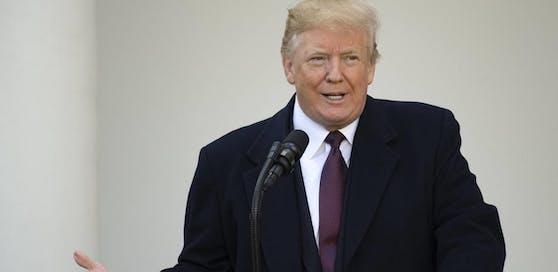 """Für US-Präsident Donald Trump steht fest: """"Tod von Kindern ist klar Fehler der Demokraten."""""""