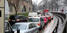 Stau-Chaos wegen Gürtel-Sperre ab Freitag erwartet