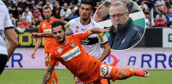 Die Austria ging in Altach mit 0:3 unter - Sportdirektor Franz Wohlfahrt kündigte eine schonungslose interne Aussprache an.