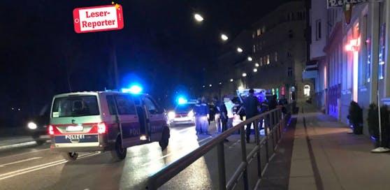 In der Winckelmannstraße endete die Flucht vor der Polizei.