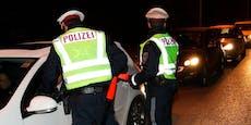 Polizei schockiert, wer mit 170 km/h über Straße raste
