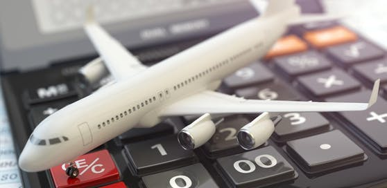 Die Fluglinien machen weniger Gewinn.