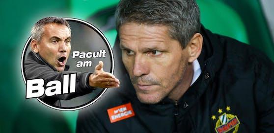 """""""Heute""""-Experte Peter Pacult über die sportliche Lage von Rapid unter Trainer Didi Kühbauer."""