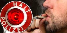 Polizei stoppt völlig zugedröhnten Drogenlenker