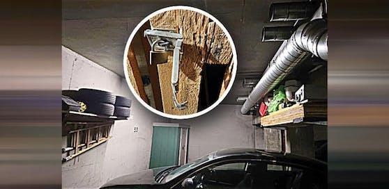 Ein 34-jähriger Deutsche versuchte in die Kellerabteile in einem Mehrparteienhaus zu kommen. Bewohner Georg K. und sein Vater hielten ihn bis zum Eintreffen der Polizei fest.