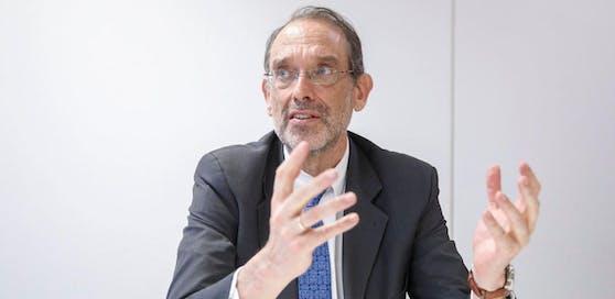 "ÖVP-Bildungsminister Heinz Faßmann im ""Heute""-Interview."