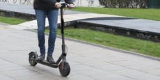 E-Scooter-Fahrer prallte in Wien-Favoriten gegen Baum