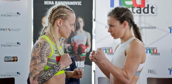 Eva Voraberger siegte gegen die Serbin Nina Radovanovic.