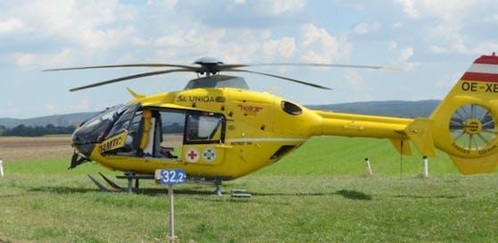 Symbolfoto eines Christophorus-Hubschraubers.