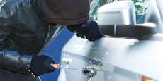 Auf frischer Tat ertappt – Polizei fasst Autoknacker