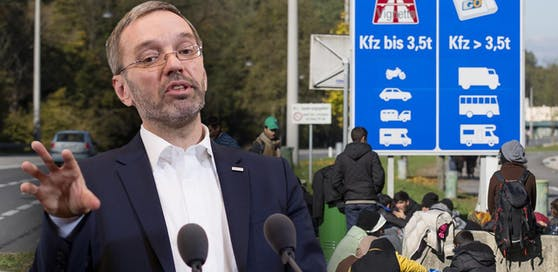 """Kickl: """"Keine Asyl-Anträge mehr in der EU"""""""