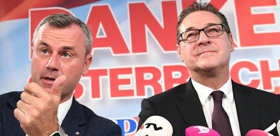 Strache will Hofer als Minister in Wien behalten.