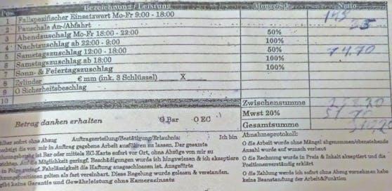 """310 Euro für 40 Minuten Arbeit: """"Heute""""-Leser fühlt sich in die Irre geführt."""