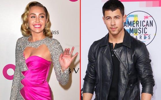 Miley Cyrus und Nick Jonas waren von 2006 bis 2007 und dann nochmals 2009 ein Paar.