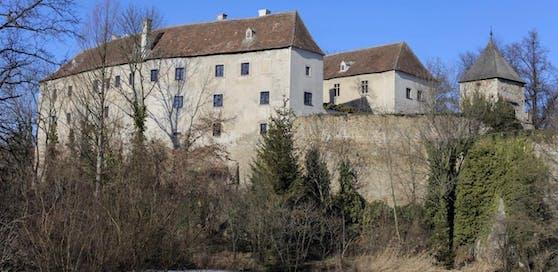 Das Schloss Burgschleinitz am Dienstag.