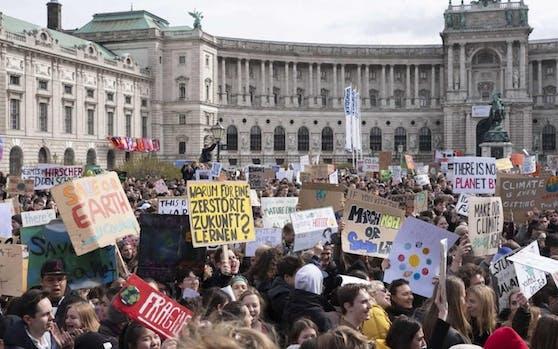 Großes Klima-Event am Heldenplatz: Hier wird eine Bühne stehen