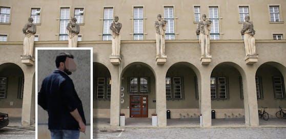 Der Angeklagte stand jetzt in Krems vor dem Richter.