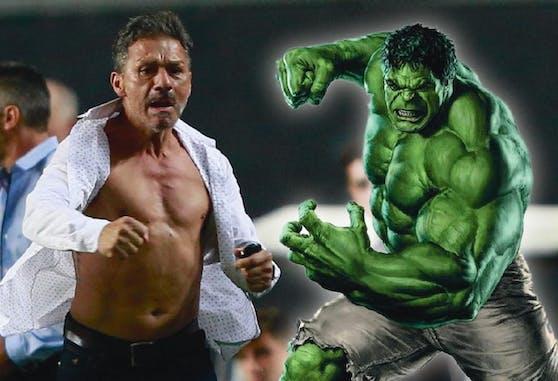 Nelson Vivas auf den Spuren des unglaublichen Hulk.
