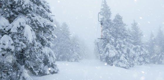 Bis zu 30 Zentimeter Neuschnee werden erwartet.