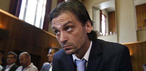 Sanel Kuljic vor Gericht. Seit zwei Jahren ist er wieder ein freier Mann.