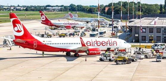 Die krisengeschüttelte deutsche Fluggesellschaft Air Berlin ist insolvent.